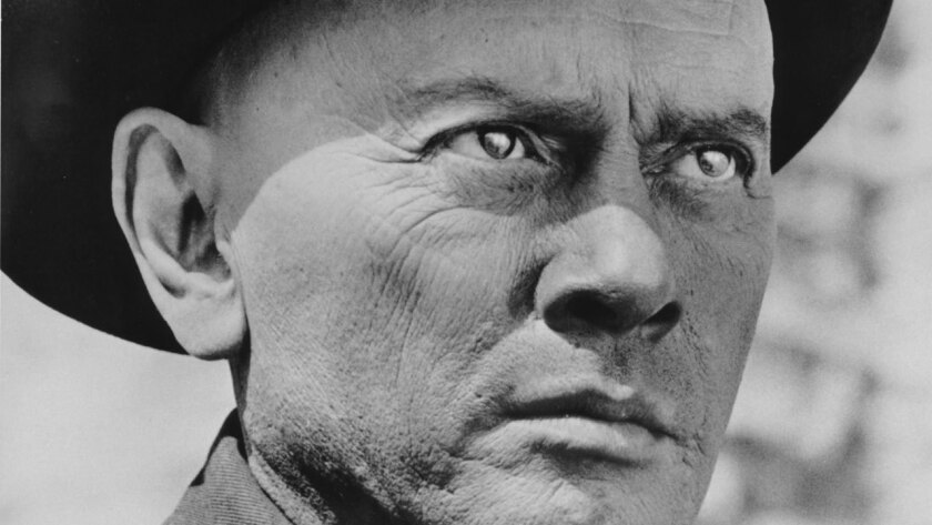 """Yul Brynner played a killer robot gunslinger in the original 1973 """"Westworld,"""" which is getting remade as a series on HBO."""