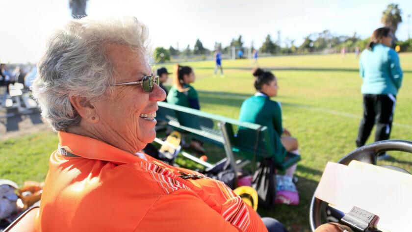 Hilltop Athletic Director Nancy Acerrio.