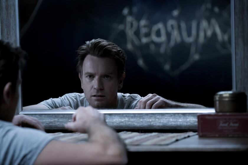 "Ewan McGregor as Danny Torrance in the Warner Bros. supernatural thriller ""Doctor Sleep."""