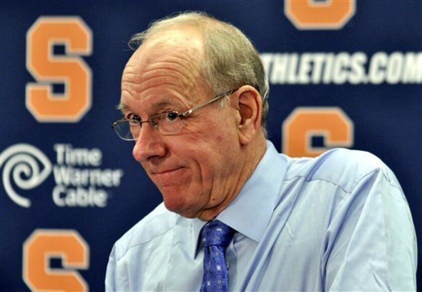 Syracuse S Boeheim Not Worried About Job Status The San