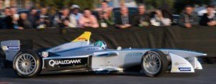 FIA Formula-e debut demonstration – Mandalay Bay