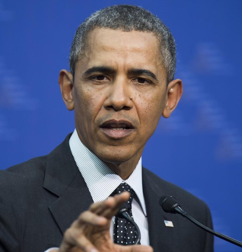 Obama at Netherlands news conference