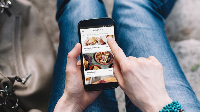 Uber announced Tuesday an expansion of its UberEats meal-delivery service in Los Angeles and other cities.