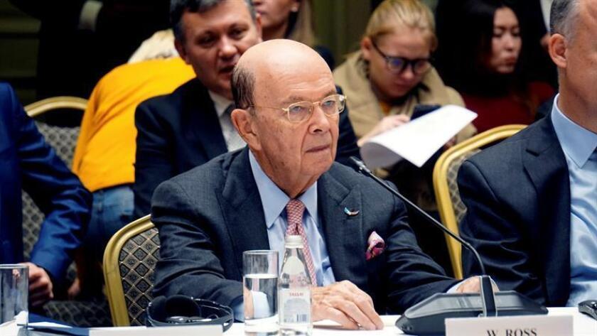 El secretario de Comercio de Estados Unidos, Wilbur Ross. EFE/Archivo
