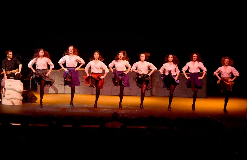 """Dancing will play a prominent role in """"The Irish Christmas"""" performance at the Balboa Theatre,"""