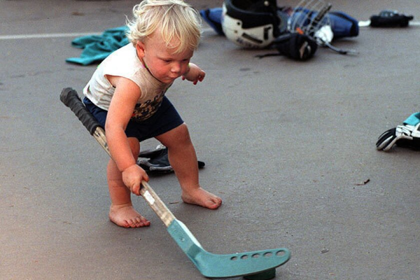 Toddlers tend not to share, but give it time