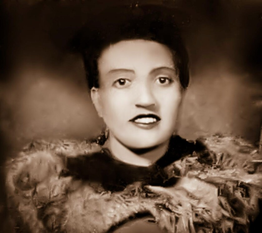 Esta foto muestra a Henrietta Lacks a inicios los años de 1940.