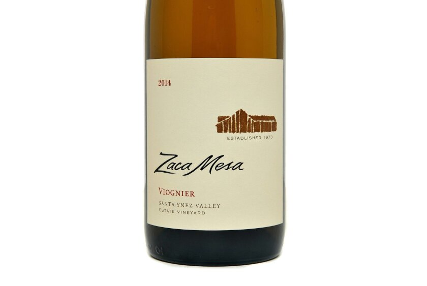The 2014 Zaca Mesa Viognier sports the winery's new label, featuring the rustic barn on the estate.
