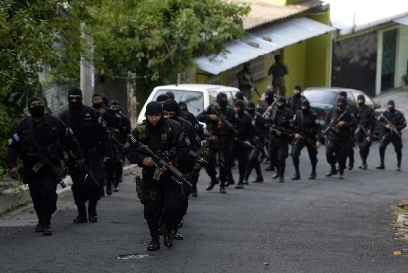 El Salvador's gang problem