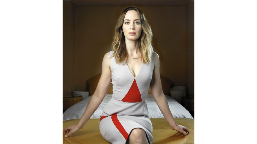 """Emily Blunt interviewed female FBI agents to prepare for her role as one in the action-driven thriller """"Sicario."""" She says they were """"remarkably honest"""" with her."""