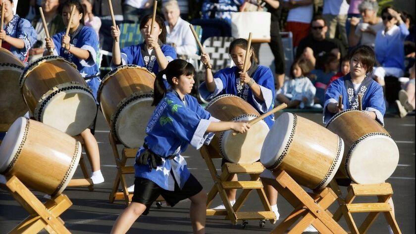 Members of Orange County Buddhist Church's Daion Taiko will present a performance at the Obon fest