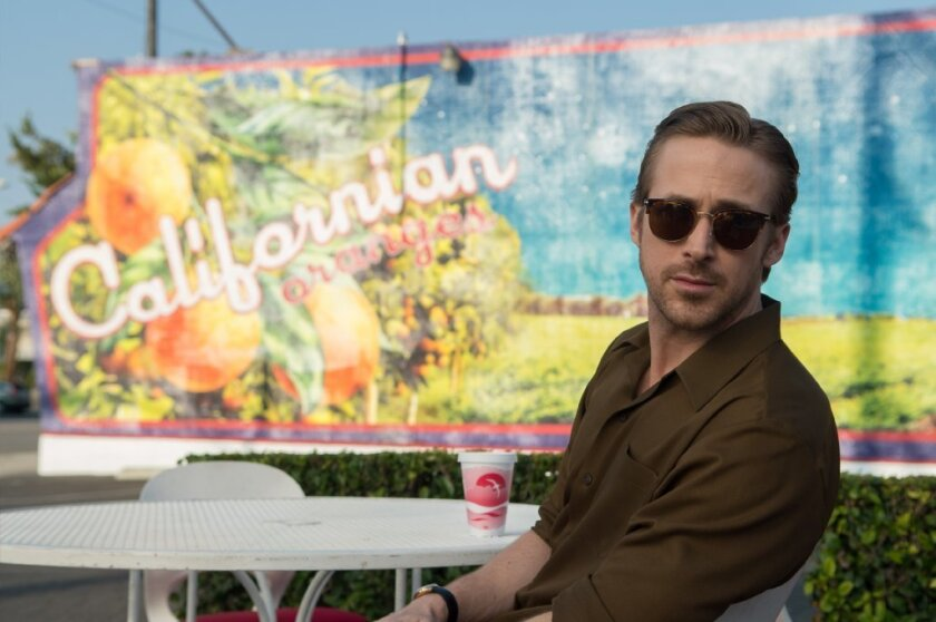 "Ryan Gosling stars as Sebastian in ""La La Land."""