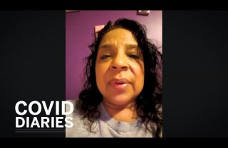At the grocery store, she works 'the front lines' of a pandemic | COVID-Diaries Ep. 3