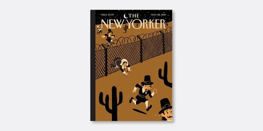 Foto de las redes sociales de la revista The New Yorker.