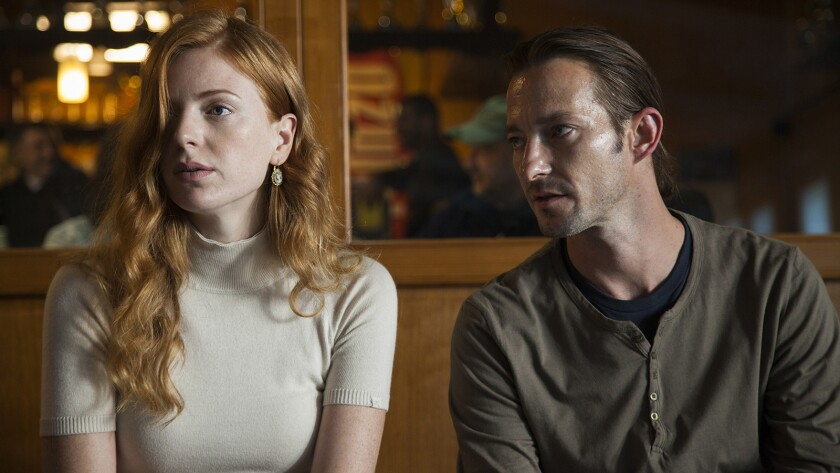 """Natasa Janjic and Franjo Dijak in a scene from the movie """"Goran."""""""