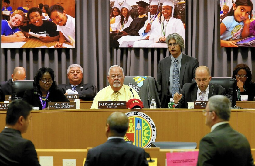 Last month the Los Angeles Board of Education vote 6 to 1 to approve an ethnic studies requirement.