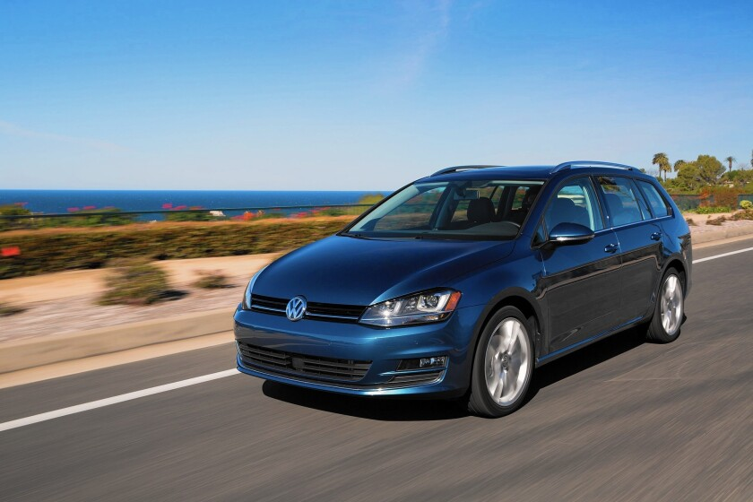 Volkswagen'a Golf SportWagen TDI enjoys great reviews and near-hybrid fuel economy but has meager sales.