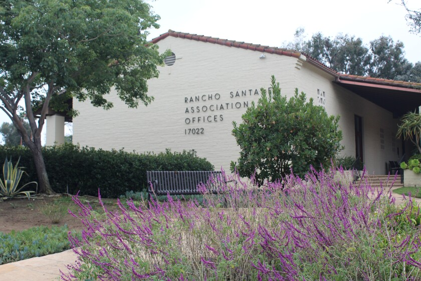 The Rancho Santa Fe Association will hold its election in May.