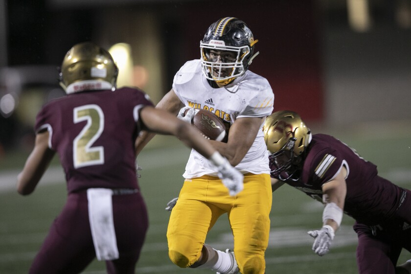 El Camino's Isaiah Tuipala and his Wildcats teammates will face Temecula Valley on Friday in the Southern California Regionals.