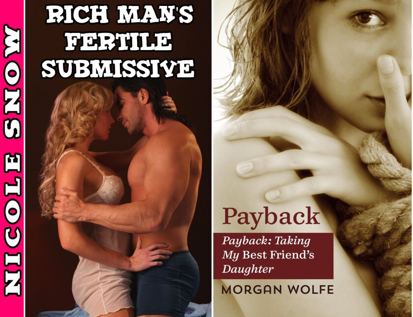 Two e-books currently for sale on Amazon with safe-for-work-covers might be considered extreme erotica.