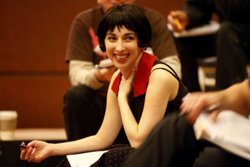 """Vanessa Claire Stewart, pictured at the Geffen Playhouse in 2009, will return as nightclub singer Keely Smith in a revival of """"Louis and Keely."""" Stewart co-wrote the show, one of the L.A. theater scene's most successful small-venue productions of the last decade."""