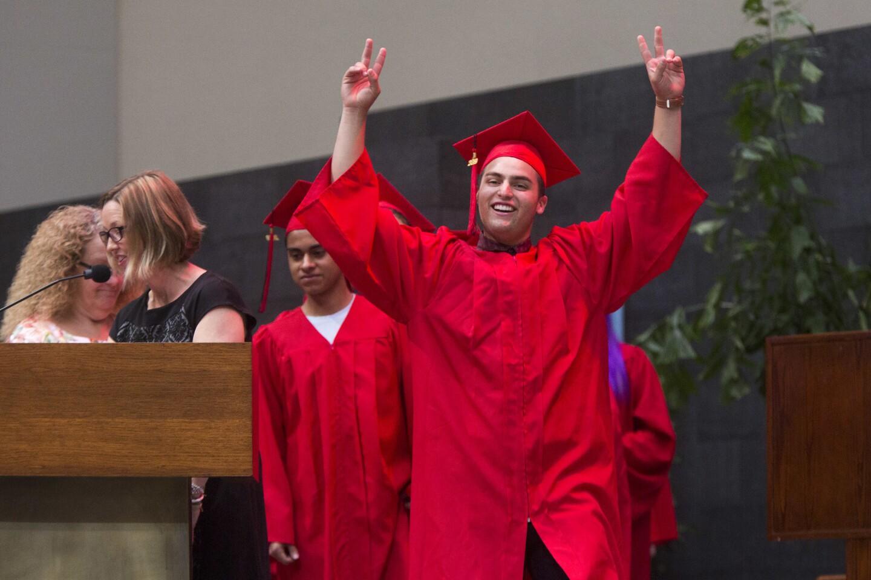 Photo Gallery: Back Bay High School graduation