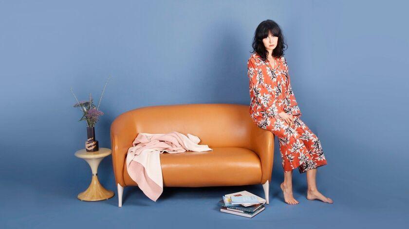The Glad Hours X TenOverSix pajama set