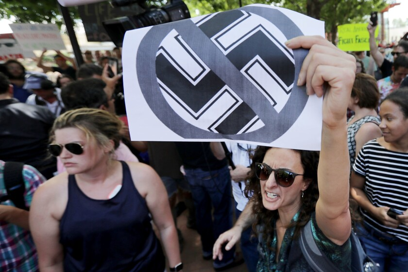 Organizers Of Saturday's Alt Right Rally In Charlottesville, Virginia Hold News Conference