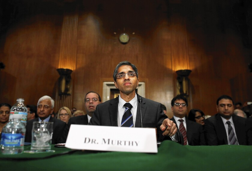NRA moves to new arena in fight over surgeon general