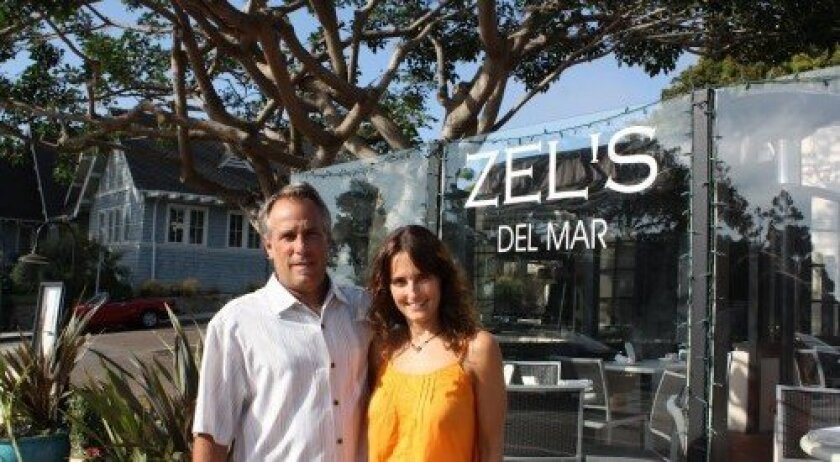Jenn Powers and Greg Glassman at Zel's Del Mar