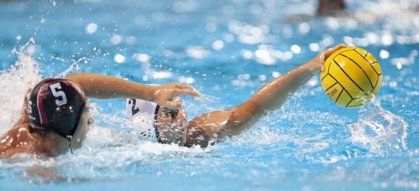 Newport Harbor boys' water polo upends top-ranked Studio City Harvard-Westlake