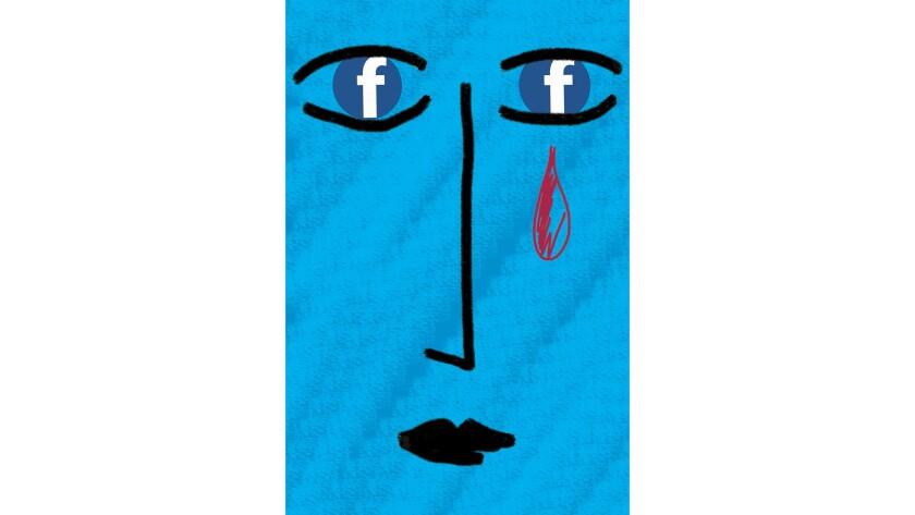 Social media woes of breaking up