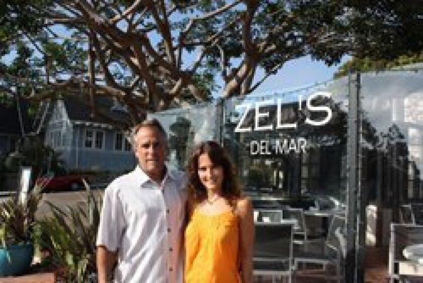 Greg Glassman and Jenn Powers at Zel's Del Mar