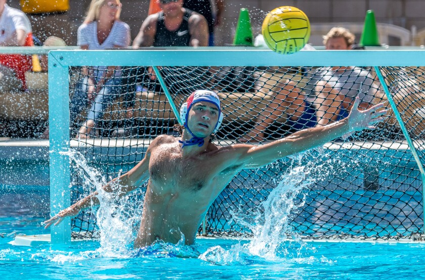 Bernardo Maurizi is a water polo player at UCLA. He is from Florence, Italy.