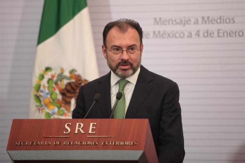 """El Gobierno de México pidió hoy a Israel revertir una ley de regularización de colonias judías construidas sobre propiedad privada palestina en Cisjordania e iniciar """"negociaciones directas"""" para hallar una solución al conflicto israelí-palestino. EFE/ARCHIVO"""