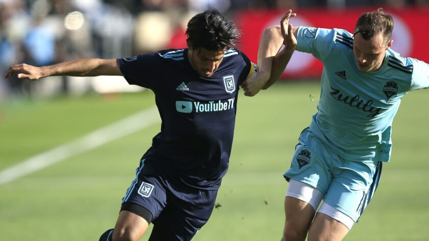 Seattle Sounders FC v Los Angeles FC