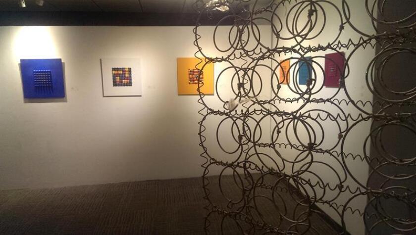 Exhiben en Miami muestra de obras abstractas de artistas de América Latina