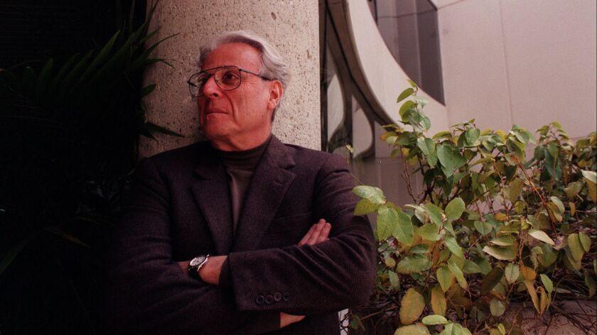 William Goldman photographed in 2001.