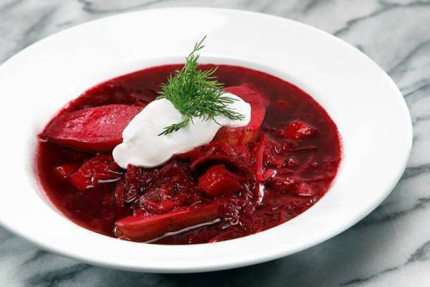 Restaurant recipes: Rockin' borscht from Paper or Plastik Cafe