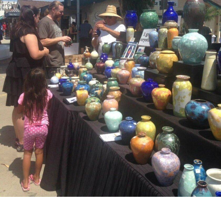 More than 100 fine artists will be in Carlsbad for one day, for the annual Art in the Village event.