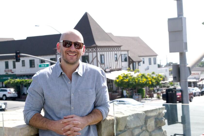 Alex Feldman, the owner of the new Alexander Daas optique in Del Mar.