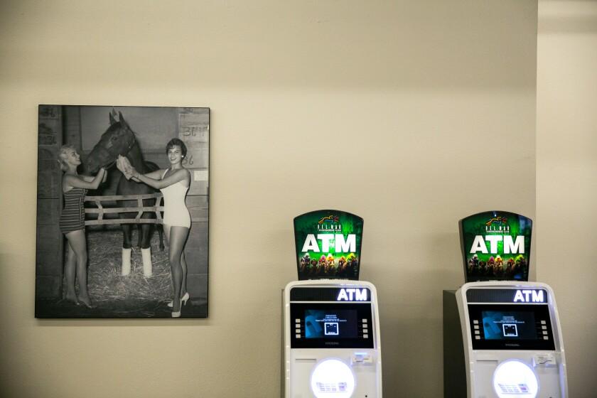 Del Mar Racetrack ATMs