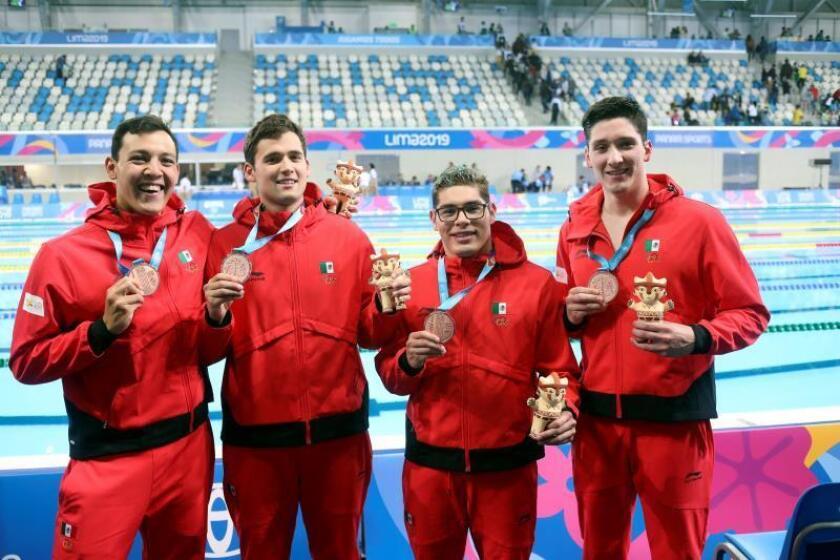 Brasil y Argentina se rebelan a Estados Unidos en primer día de la natación
