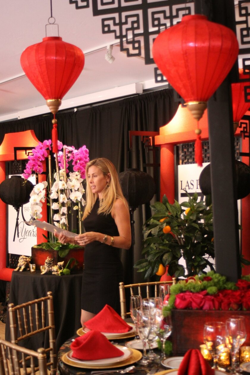 Tables chair Kelly Kent explains the Asian-inspired features that will be found on the dining tables.