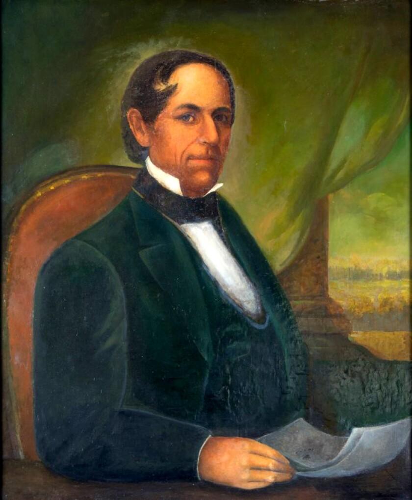 Manuel Dominguez, three-term mayor of the Pueblo de Los Angeles