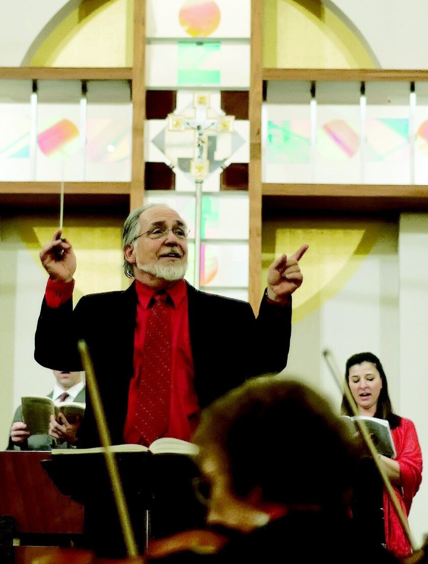 "David Chase directs the La Jolla Symphony and Chorus' singalong ""Messiah"""