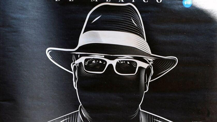 An illustration of slain Mexican journalist Javier Valdez appears on the cover of El Heraldo newspap
