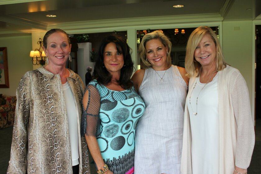 Joan Warren, Nancy Borreli, Terri Coladis and Molly McKellar