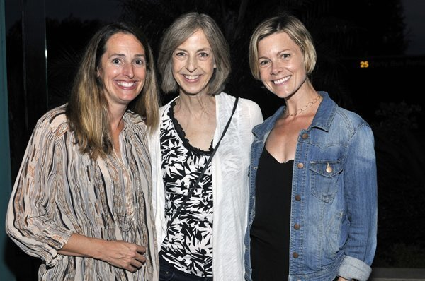 Solana Highlands School Foundation President Suzanne Miller, teacher Donna Leffel, event coordinator Jana Holsenback
