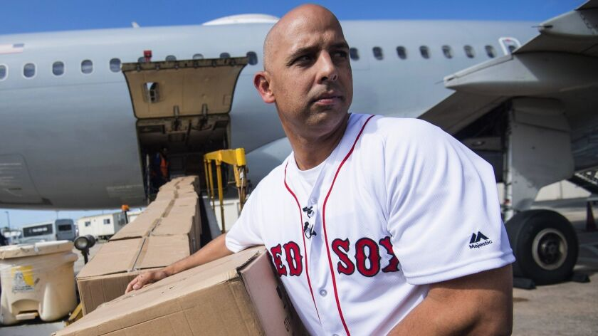 Boston Red Sox Hurricane Relief Trip